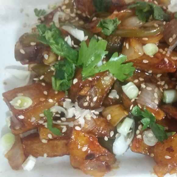 Photo of Honey Chilli Potatoes by Avin Kohli at BetterButter