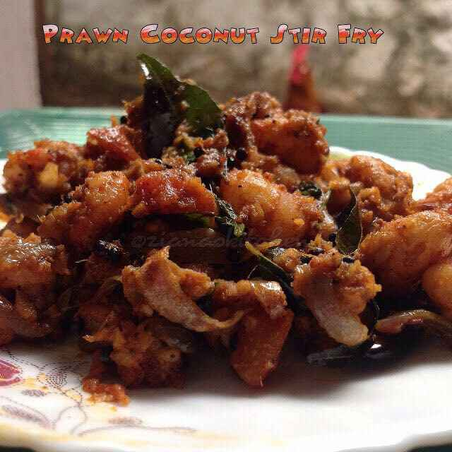 Photo of Prawn Coconut Stir fry by Ayesha Ziana at BetterButter