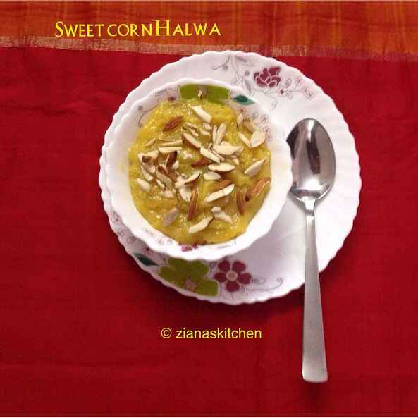 How to make Sweet Corn Halwa