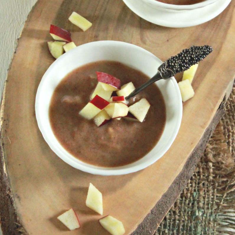 How to make Apple Ragi Porridge for Toddlers (9 months +)