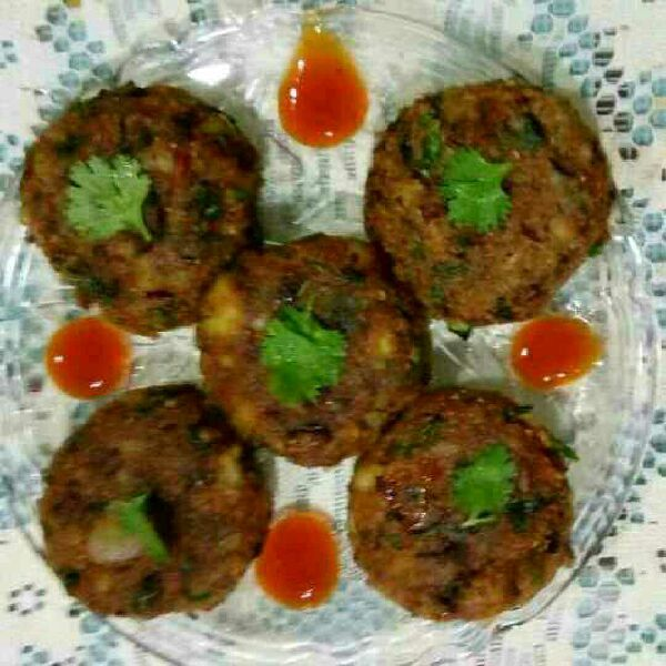 How to make Protein packed potato kebabs