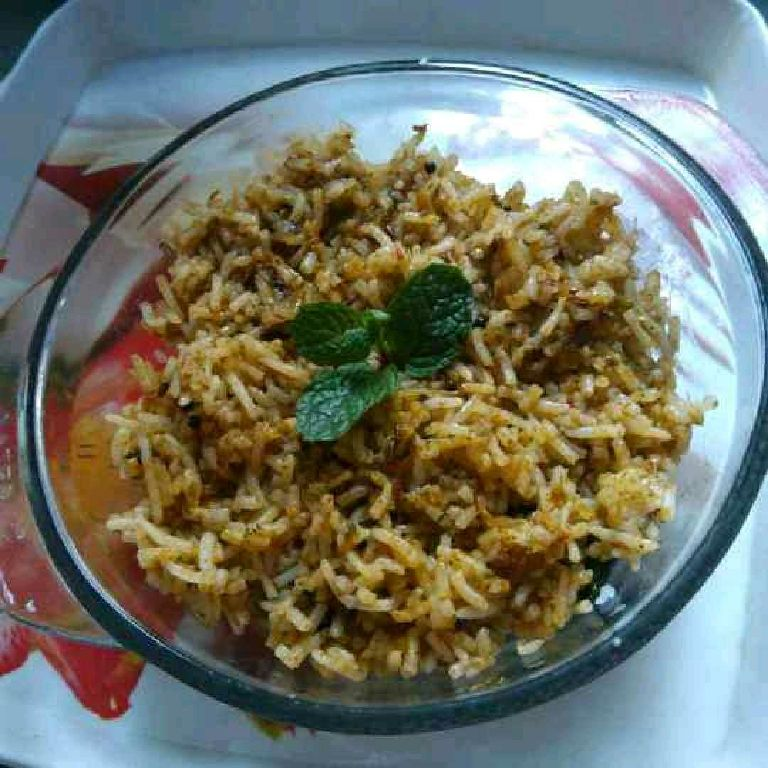 How to make Green tomato rice