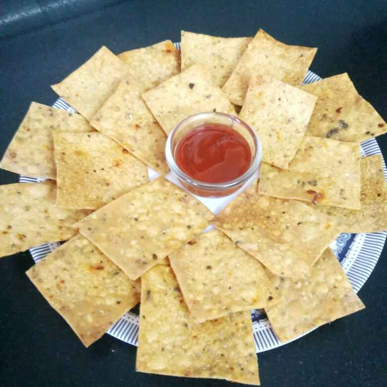 How to make Spicy whole wheat thin cracker