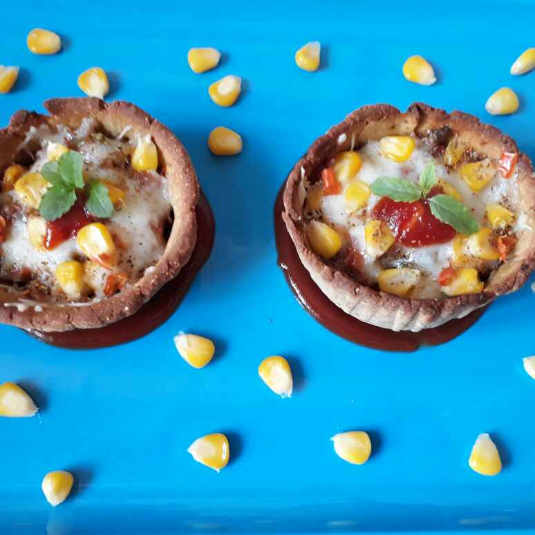 How to make Multigrain pizza cup