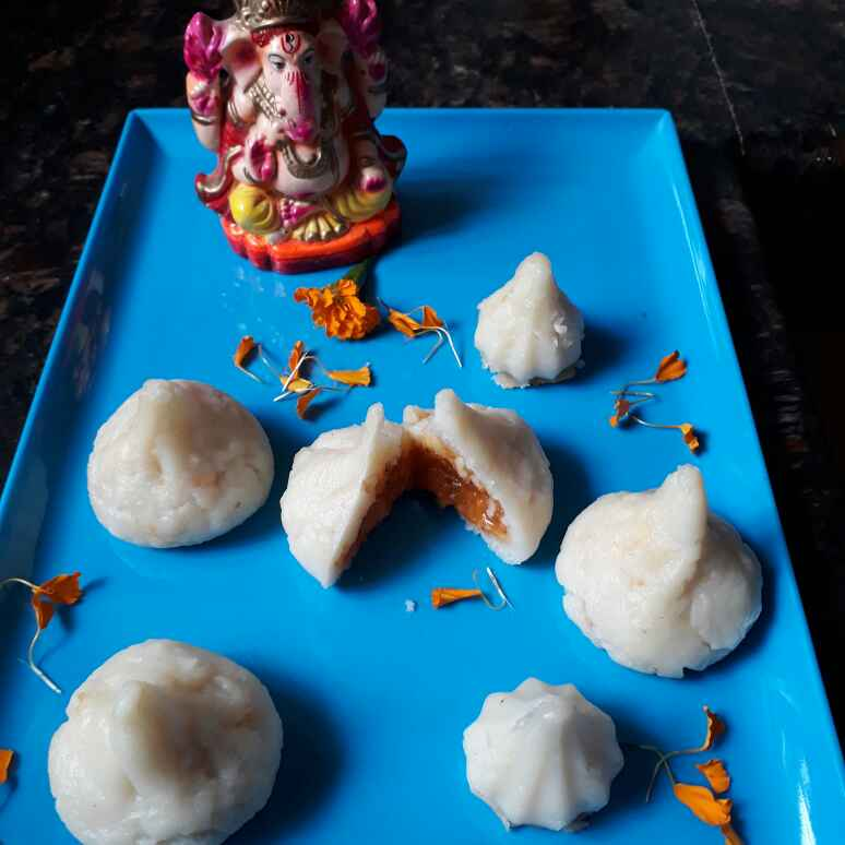 How to make Mango rabdi filled Modak