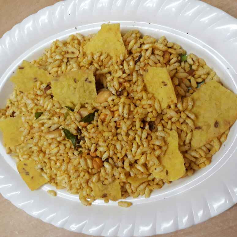 Photo of Diet khakhra bhel puri by Babita Jangid at BetterButter