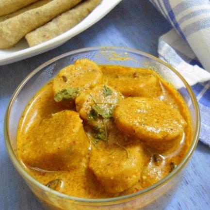 Photo of Gatte Ki Sabji | Indian Style Sabji  ( No Onion No Garlic ) by Babitha Costa at BetterButter