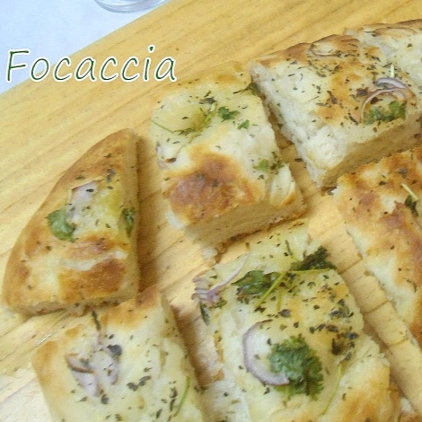 Photo of Focaccia (Italian Bread) by Babitha Costa at BetterButter
