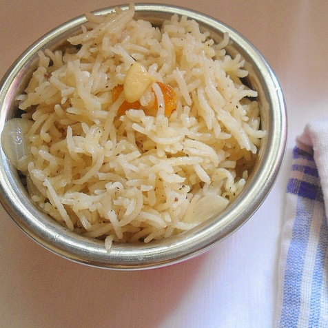 How to make Butter Pulao
