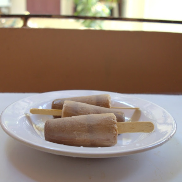 Photo of Choc-Peanut Butter Popsicle by Babitha Costa at BetterButter