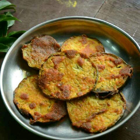 How to make Baigan fry