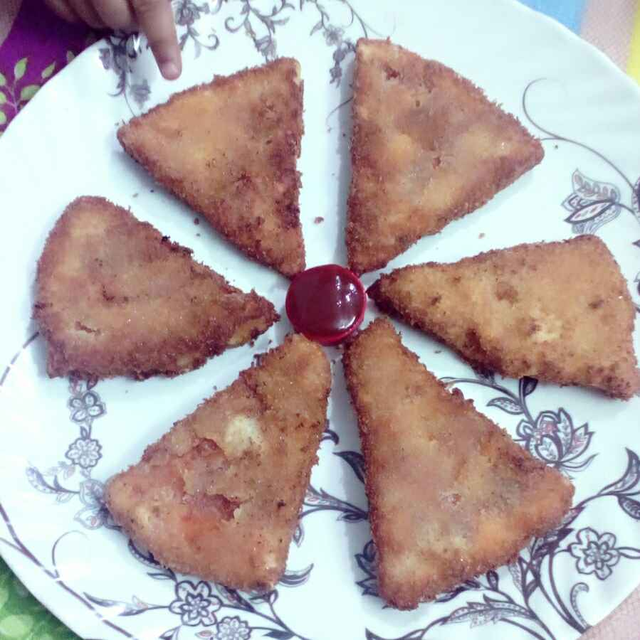 How to make Fried pizza