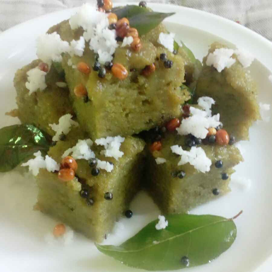 Photo of Mung beans dokla by Reshma Babu at BetterButter