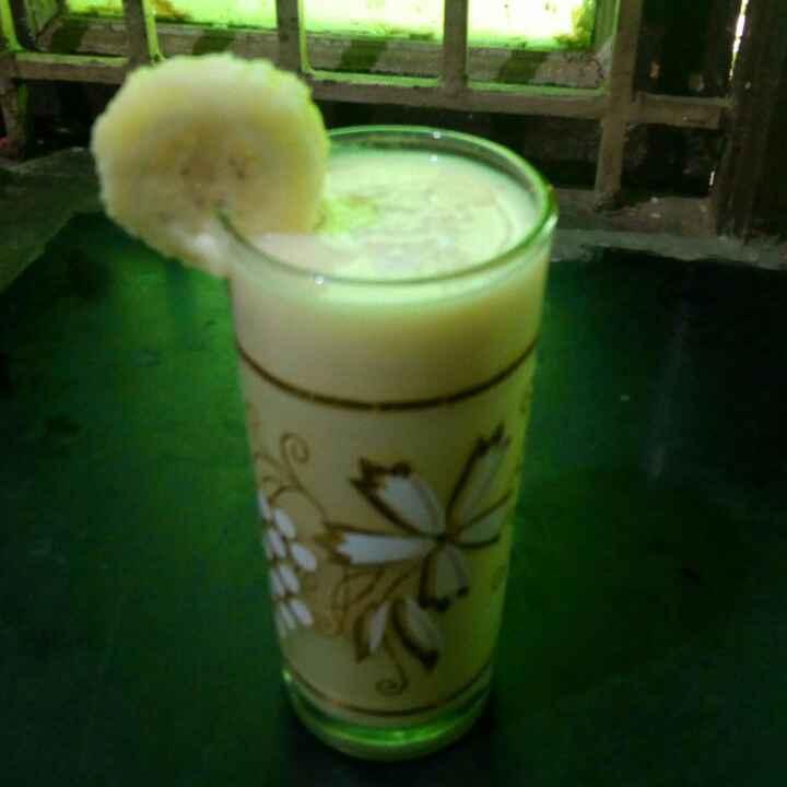 Photo of Banana milkshake by Reshma Babu at BetterButter