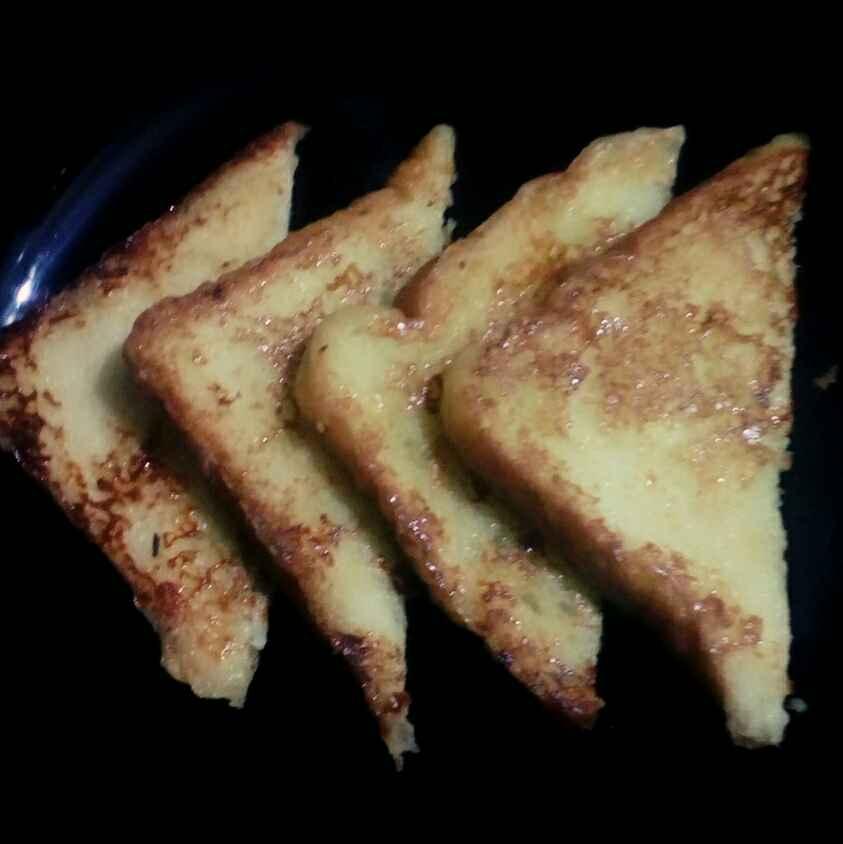 How to make Bread egg roast