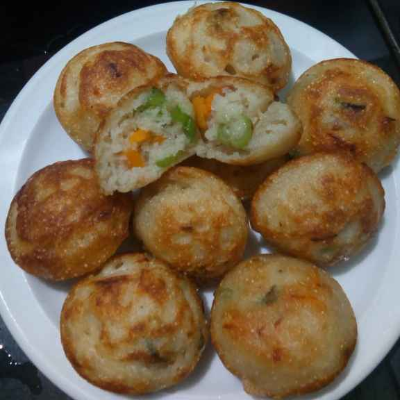 How to make Vegetable Paniyaram