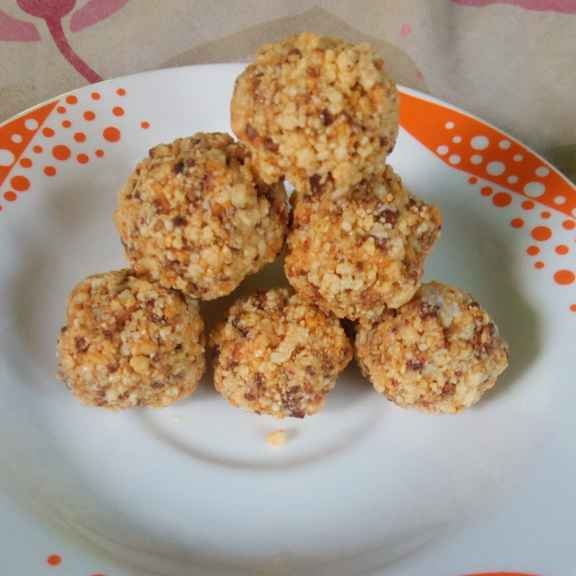 How to make Nuts laddu