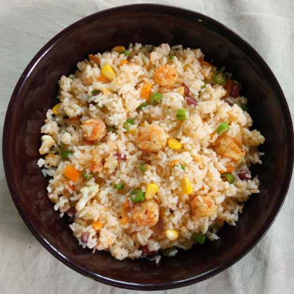 Photo of Prawn fried rice by Reshma Babu at BetterButter