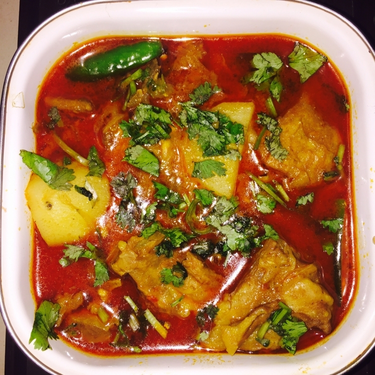 Photo of ALOO GOSHT CURRY by Baby SiMr at BetterButter