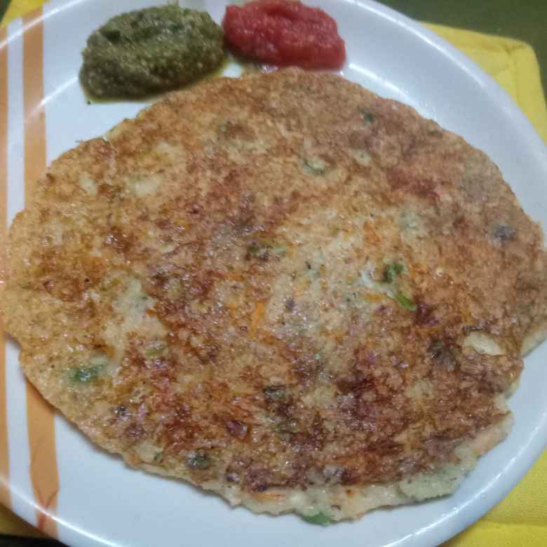 Photo of Vegetable rava adai by Balajayasri Dhamu at BetterButter