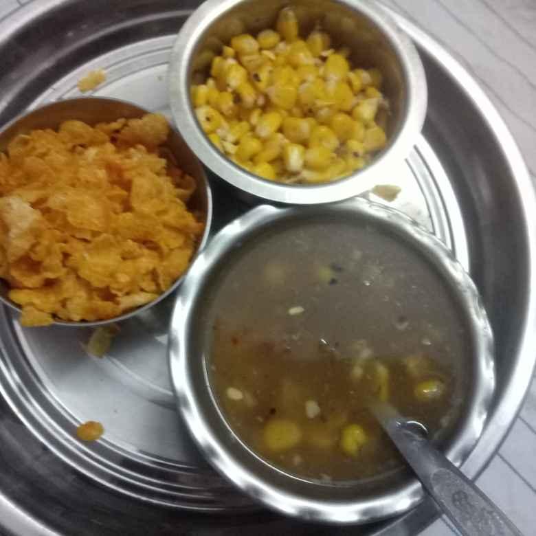 Photo of Sweetcornsoup,masalasweetcorn(chennai spl) by Balajayasri Dhamu at BetterButter