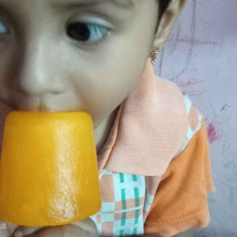 Photo of Crash Orange ice stick by Balajayasri Dhamu at BetterButter