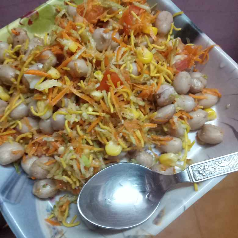 Photo of Groundnut salad by Balajayasri Dhamu at BetterButter