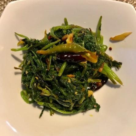 How to make Stir fried Mustard green
