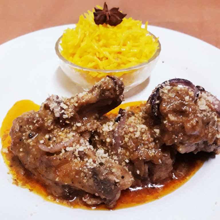 How to make Badami chicken