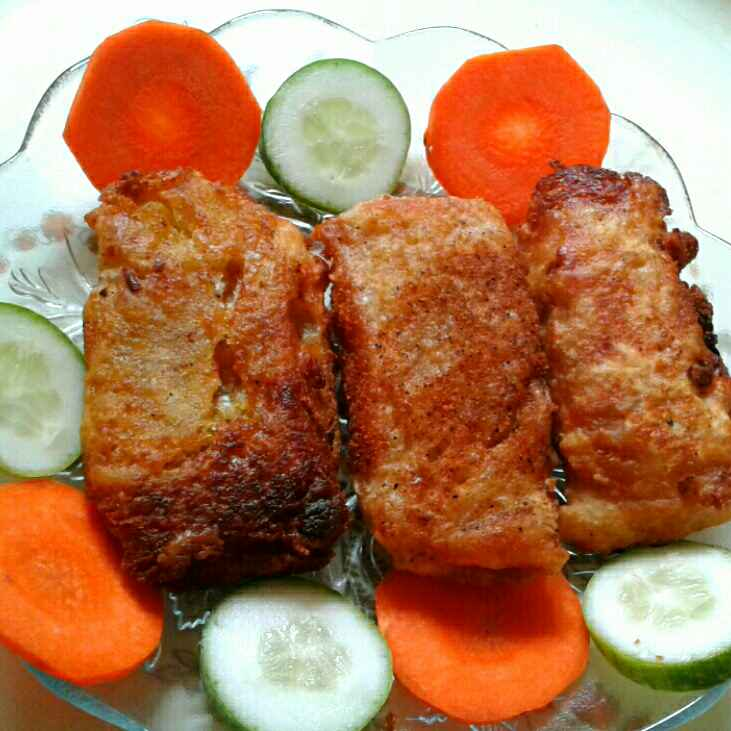 How to make ব্রেড পিজা রোল