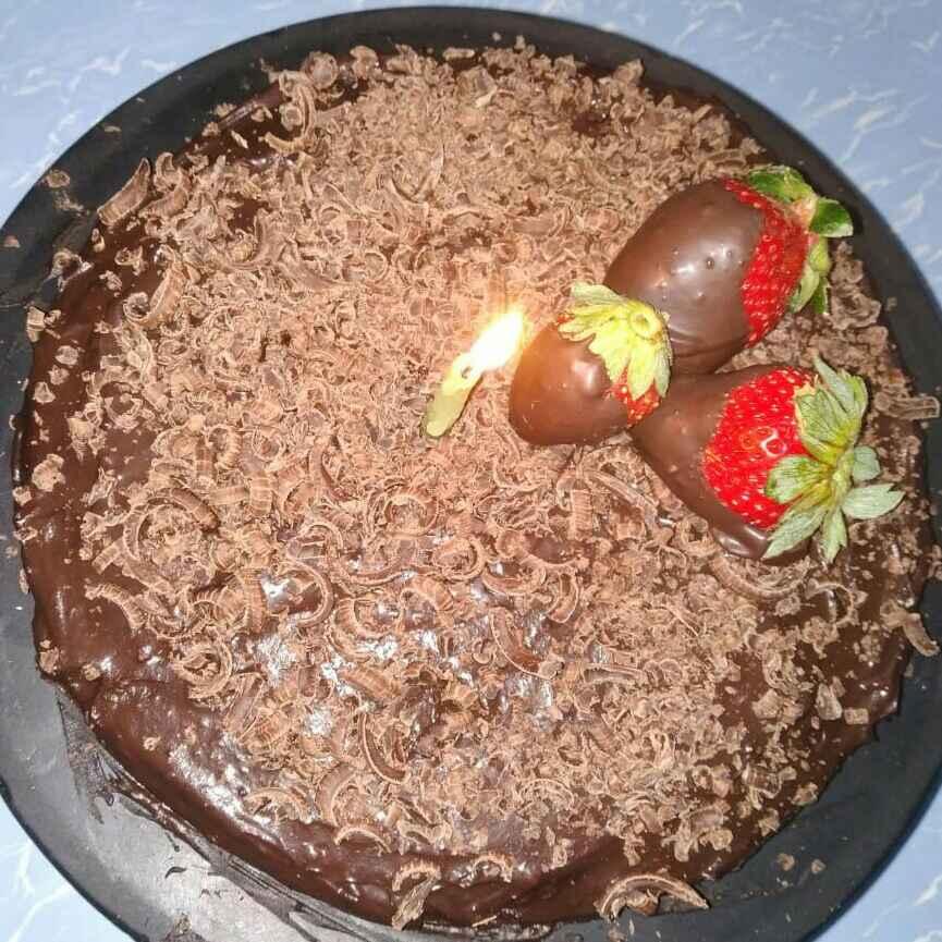 How to make ચૉકલેટ કેક વિથ ચોકલેટ  ગનાસ