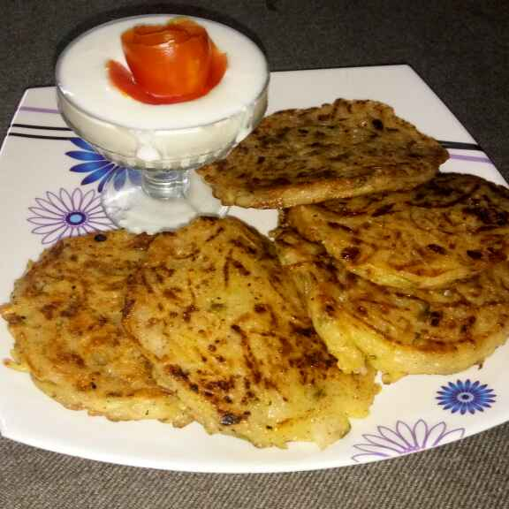 Photo of Potato pancake(eggless) by Bansi chavda at BetterButter