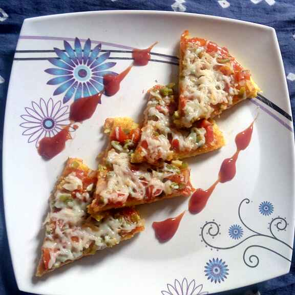 Photo of Veg.Dhokliya Pizza by Bansi chavda at BetterButter