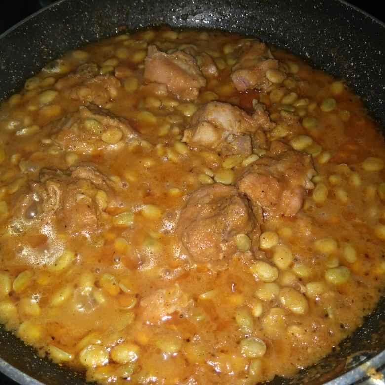 Photo of Chicken Indian Bean curry by Banupriya Jawahar at BetterButter