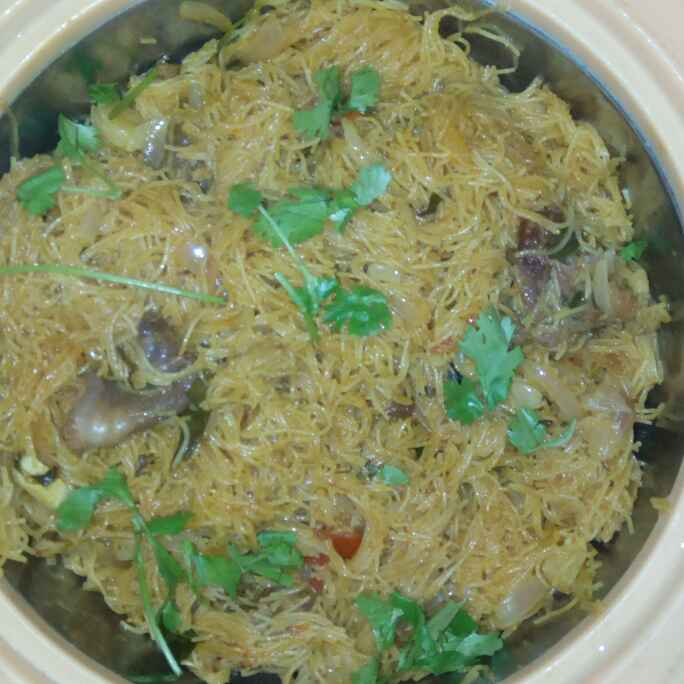 How to make கறி சேமியா