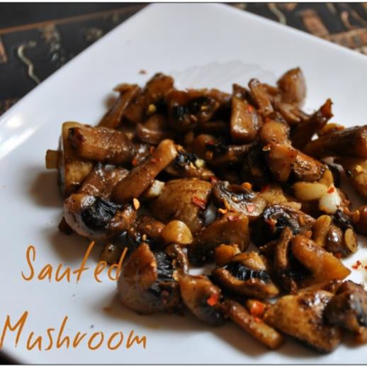 How to make Sautéed Mushroom with Butter Garlic Sauce