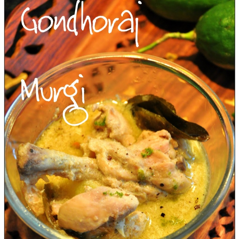 How to make Gondhoraj Murgi or Chicken Gondhoraj