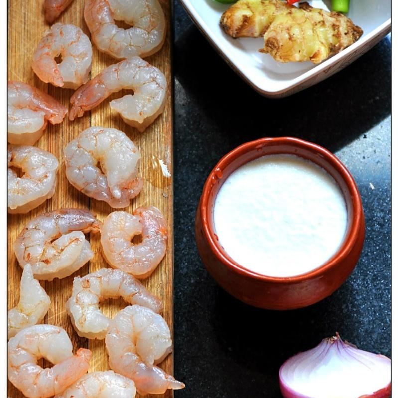 How to make Chingrir Malaikari (Prawn Curry with Coconut Milk)
