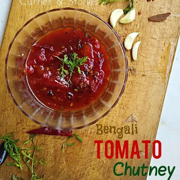 How to make Bengali Tomator Chutney ( Tomato Chutney)
