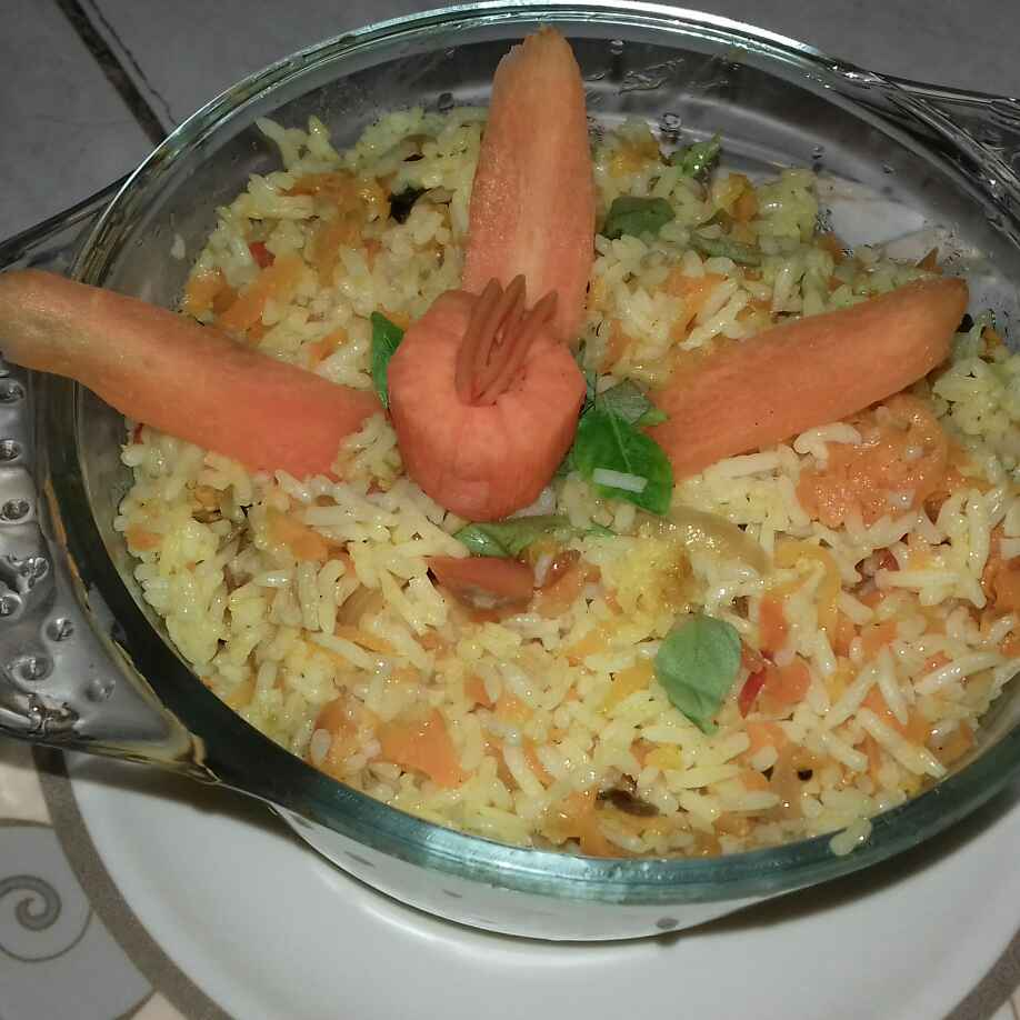 Photo of Carrot Rice by Bena Aafra at BetterButter