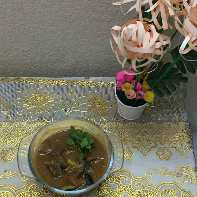 How to make Bhai Veetu Mutton Saalna(pepper Kari Saalna)