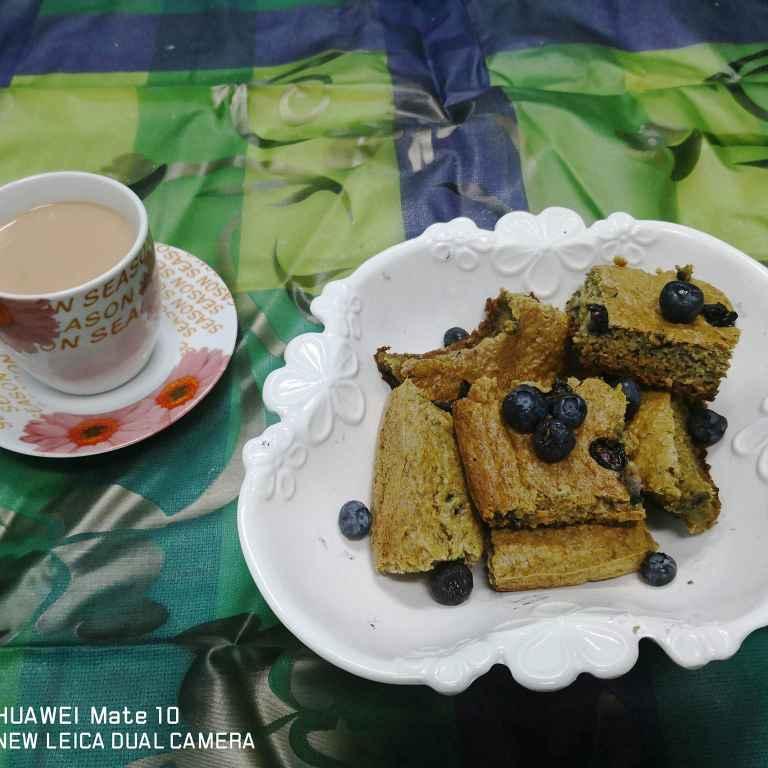 How to make Banana oats cake