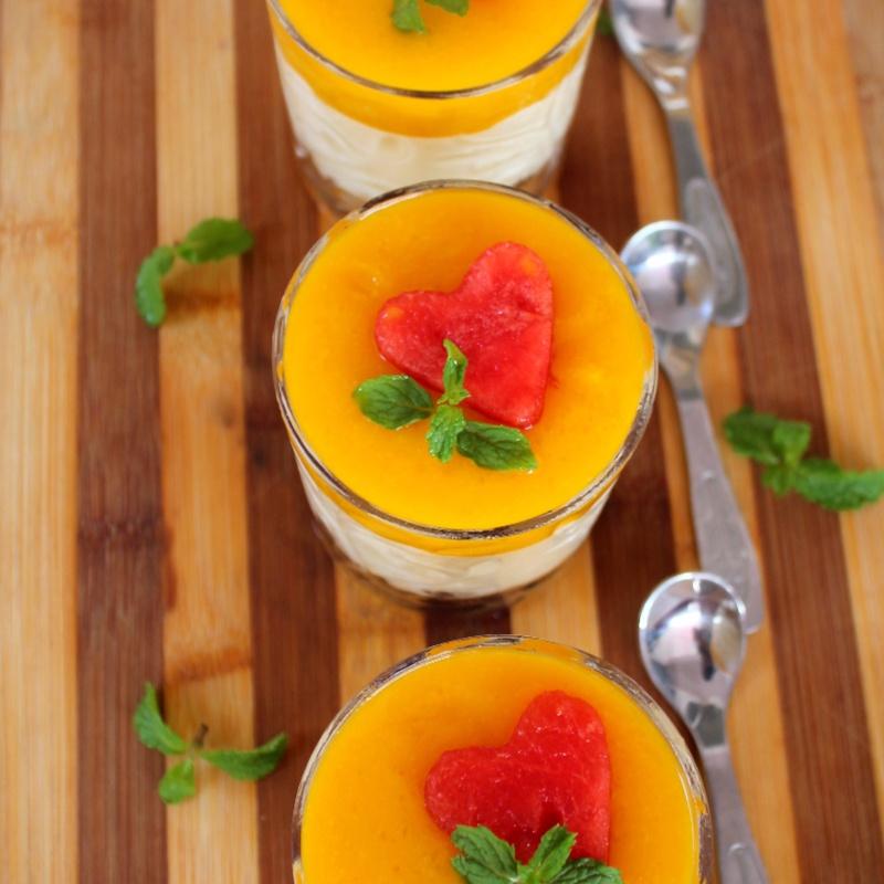Photo of Mango Mascarpone Creamcheese Shots by Bency Koshy at BetterButter