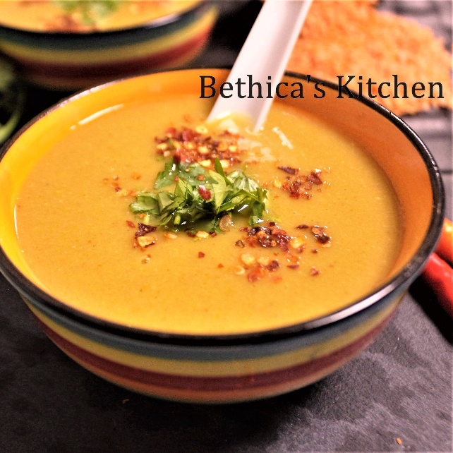 How to make Lemony Red lentil Soup