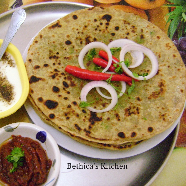 Photo of Green Peas Paratha by Bethica Das at BetterButter