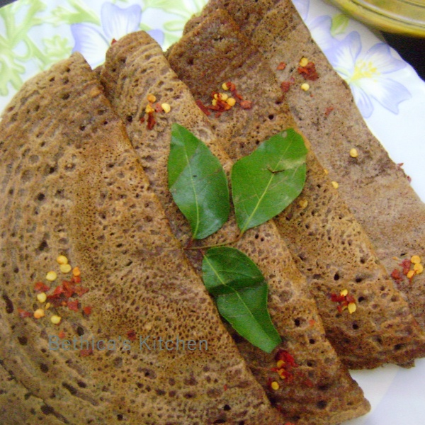 How to make Ragi Dosa