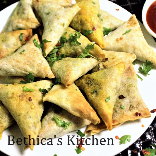 How to make Baked Chicken Samosa