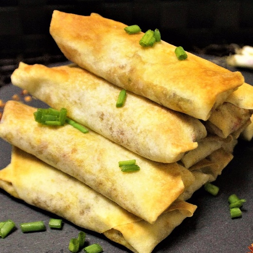 Photo of Baked Veggie Spring Rolls with Indian Flavour - Fusion Style by Bethica Das at BetterButter