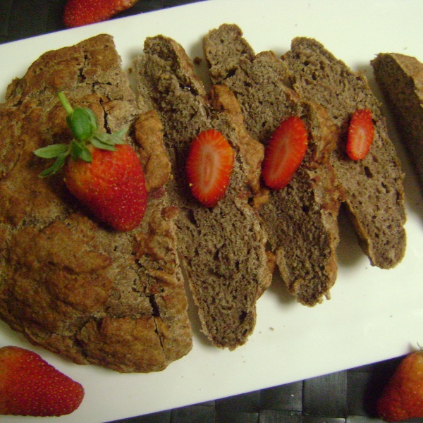 How to make Rustic Strawberry Brown Bread