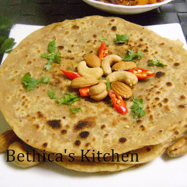 Photo of Dry Fruits Paratha by Bethica Das at BetterButter